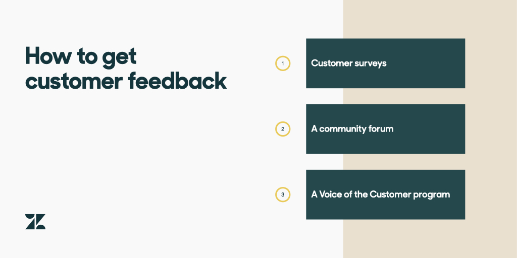 how to get customer feedback