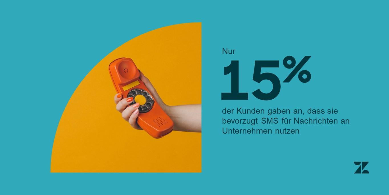 Geschäftliche Textnachrichten Statistik