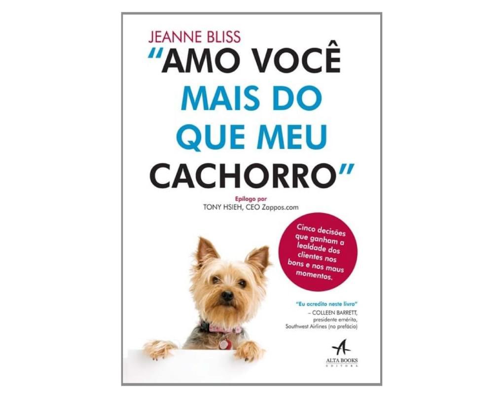 Livro: Amo você mais do que meu cachorro