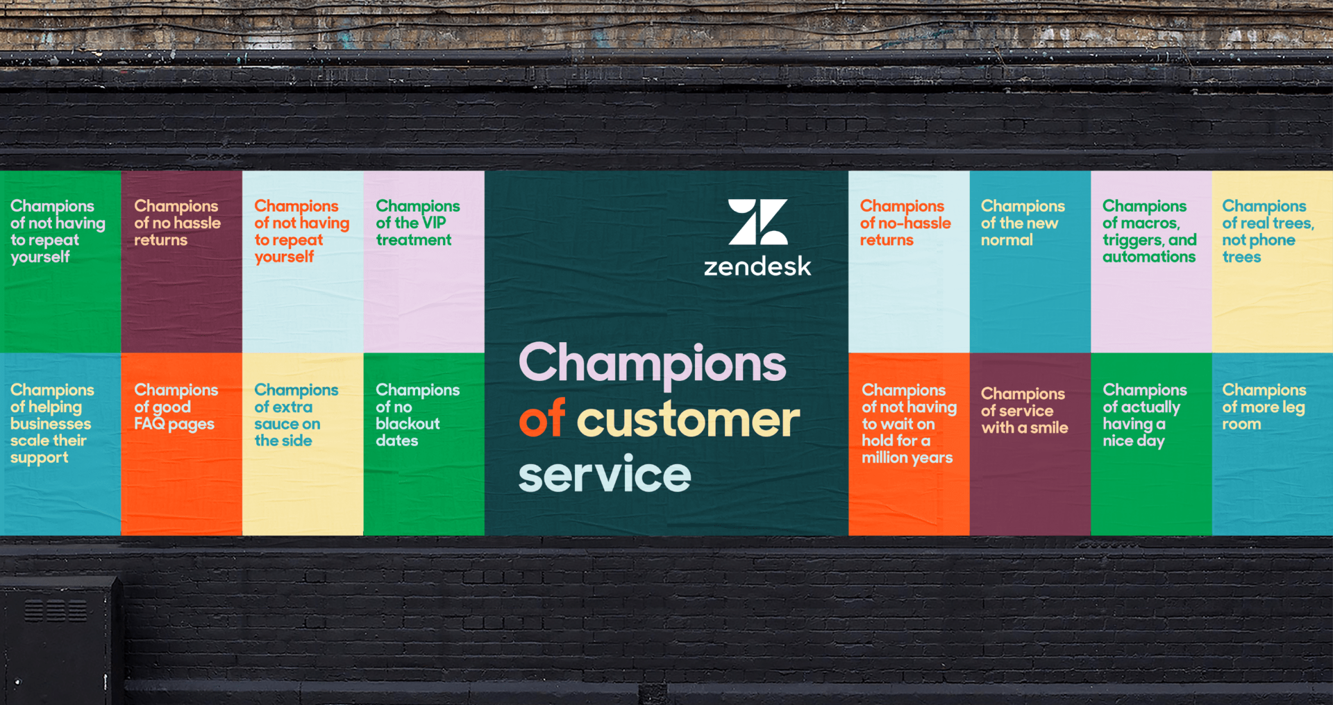 What makes Zendesk champions of customer service