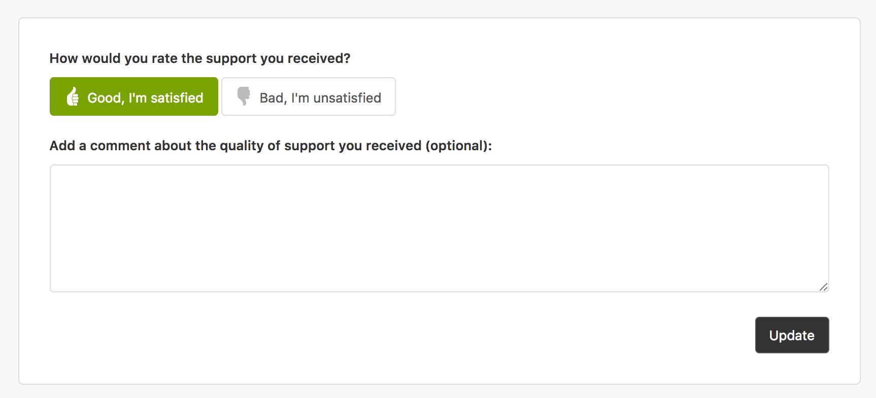 zendesk feedback form Feedbackformulare: Beispiele und Vorlagen, die funktionieren