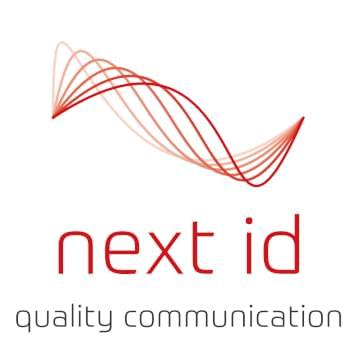 Logo: next id GmbH