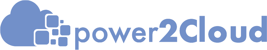 Logo: power2Cloud