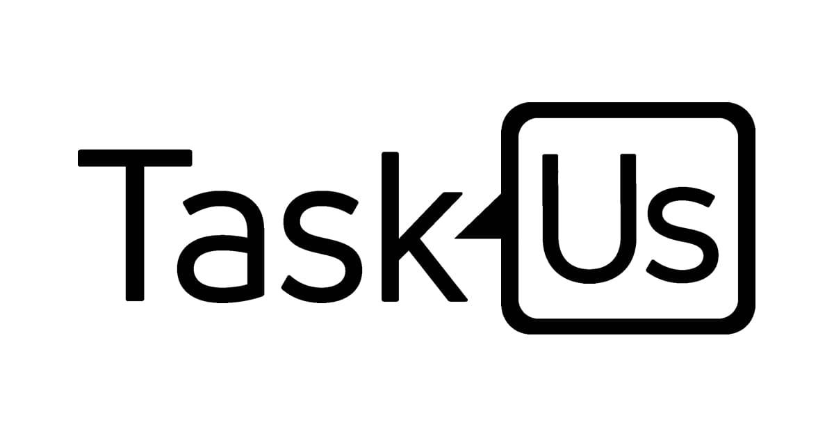 Logo: TaskUs