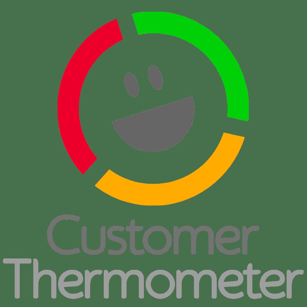 Logo: Customer Thermometer