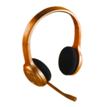 bronze headset
