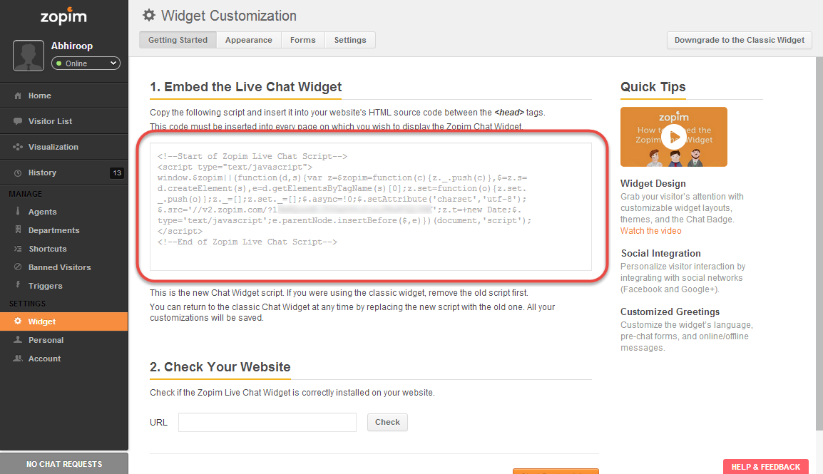 Try the New Live Chat Widget - Zopim Live Chat Blog