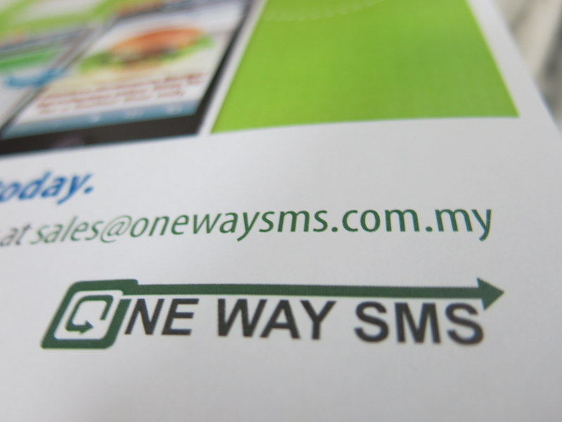 one way sms