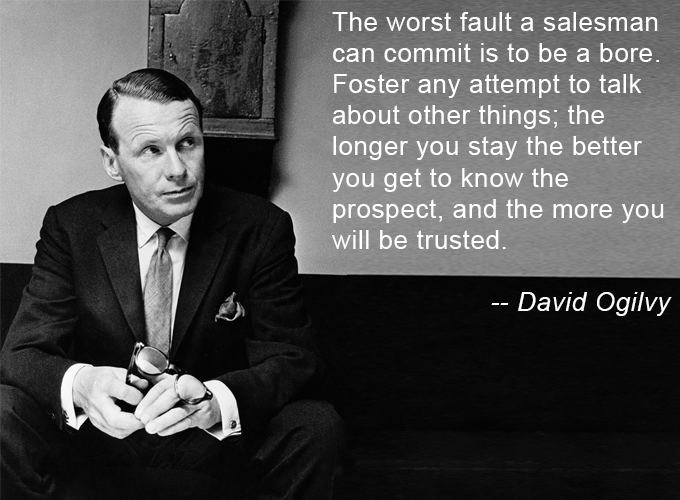 The wisdom of David Ogilvy